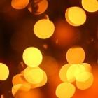 Weihnachtsbokeh gratis